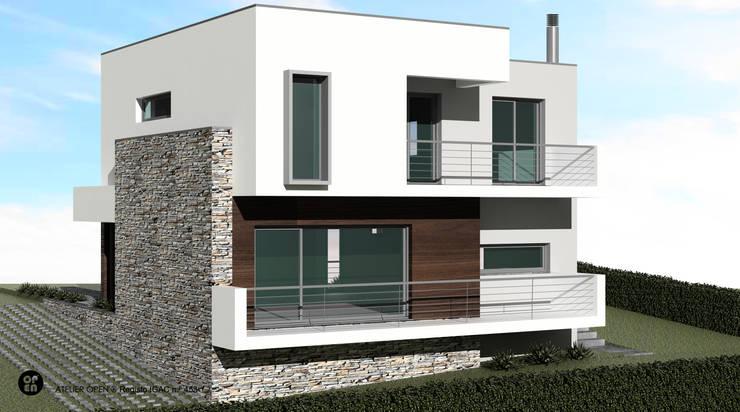 Villas by ATELIER OPEN ® - Arquitetura e Engenharia, Modern Stone