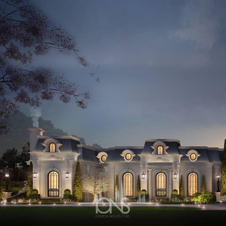 Casas de estilo  por IONS DESIGN, Clásico Piedra