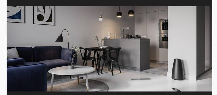 diseñamos tu sueños!: Cocinas pequeñas de estilo  por mo estudio, Escandinavo