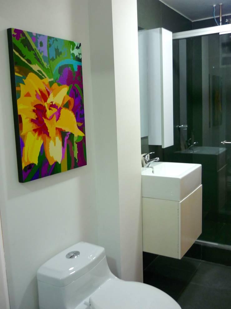 espacios: Baños de estilo  por David Fernando Enciso, Ecléctico