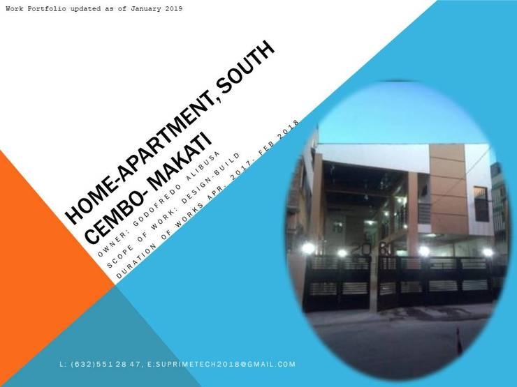 Facade:  Commercial Spaces by Suprimetech, Minimalist Concrete