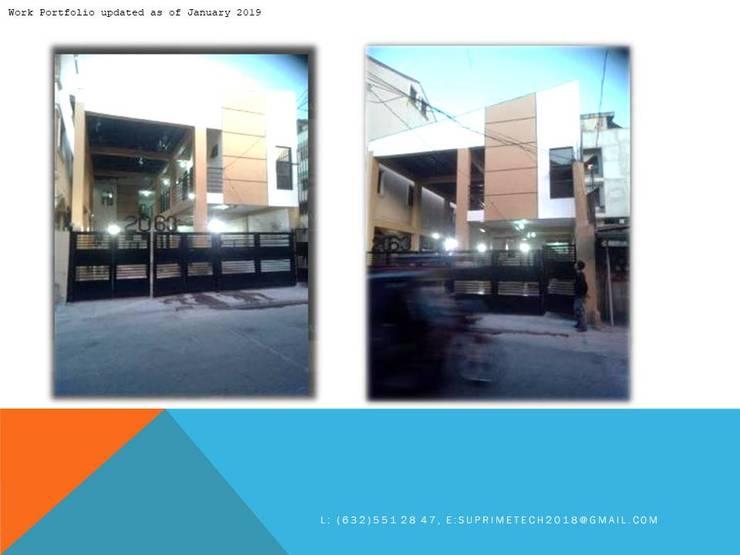 Front View:  Commercial Spaces by Suprimetech, Minimalist Concrete