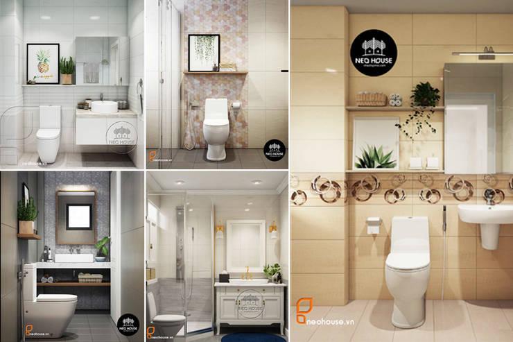 Tập hợp các mẫu thiết kế nhà vệ sinh đẹp đơn giản nhất 2019 bởi NEOHouse