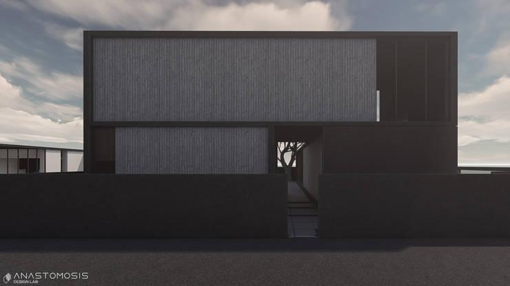 Minimalist house by Anastomosis Design Lab Minimalist