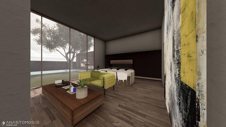 Salas de estilo minimalista de Anastomosis Design Lab Minimalista