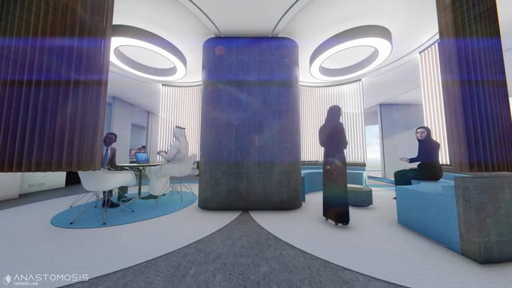 Moderne kantoor- & winkelruimten van Anastomosis Design Lab Modern