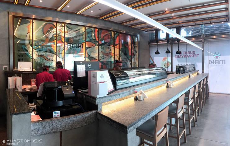 بار السوشي Sushi Bar:  مطاعم تنفيذ Anastomosis Design Lab, أسيوي