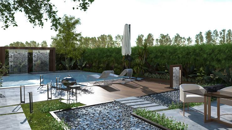 حديقة تنفيذ Saif Mourad Creations, حداثي
