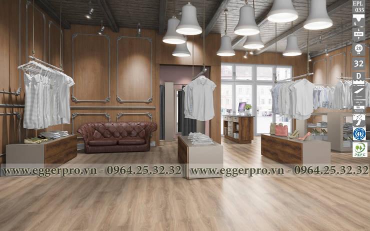 Sàn gỗ Egger: hiện đại  by Sàn Gỗ Cao Cấp Gia Bảo, Hiện đại