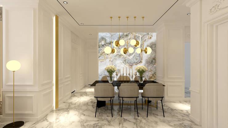CH House: Ruang Makan oleh Antelope Studio, Klasik