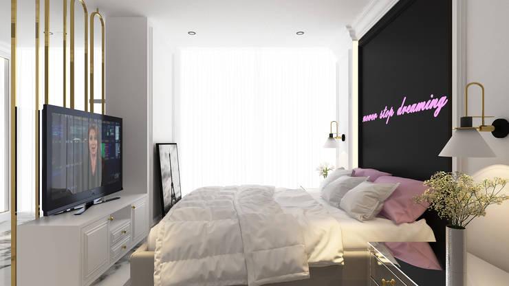 CH House: Kamar tidur kecil oleh Antelope Studio, Klasik