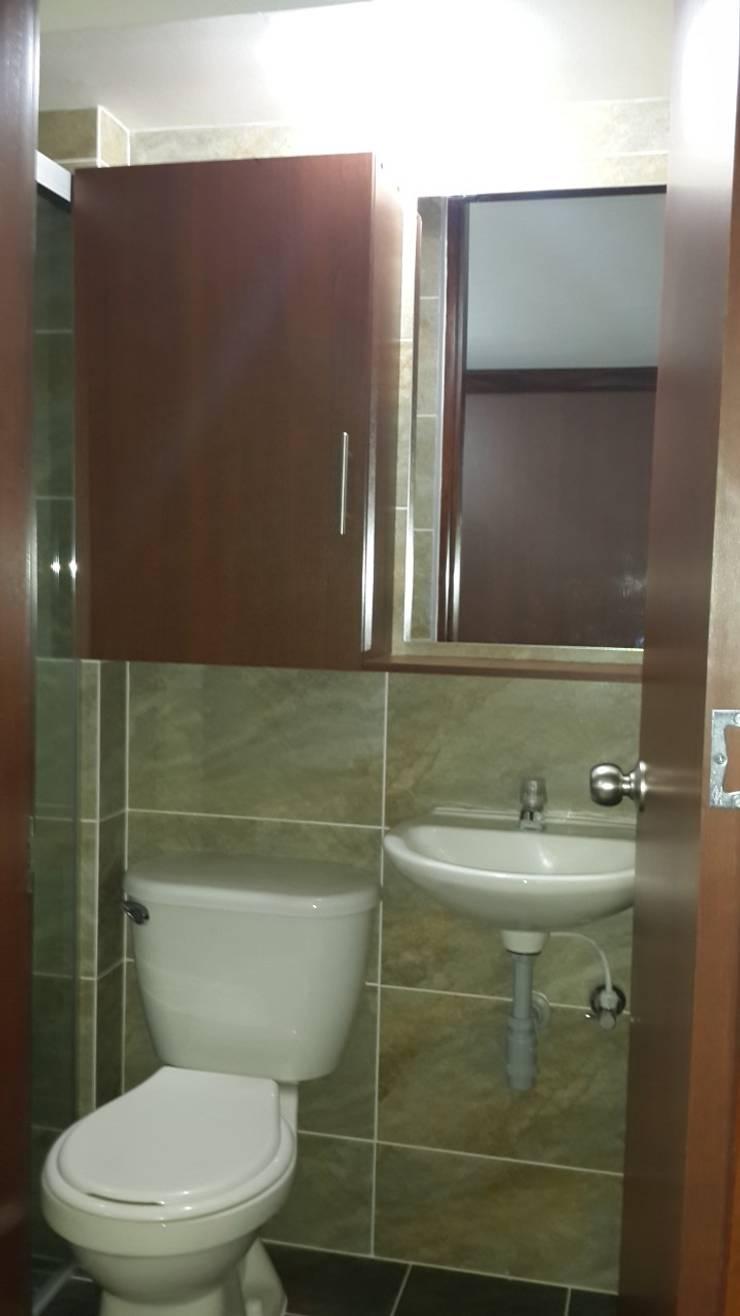 Baño: Baños de estilo  por GEOARKITECTURA, Moderno