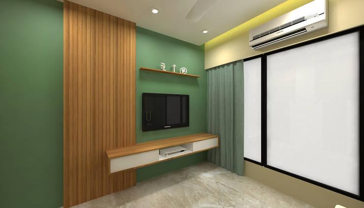 Parents Bedroom Minimalist conservatory by SPACE DESIGN STUDIOS Minimalist