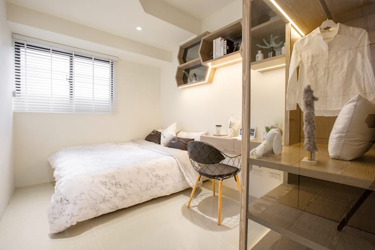 Scandinavian style bedroom by 衍相室內裝修設計有限公司 Scandinavian