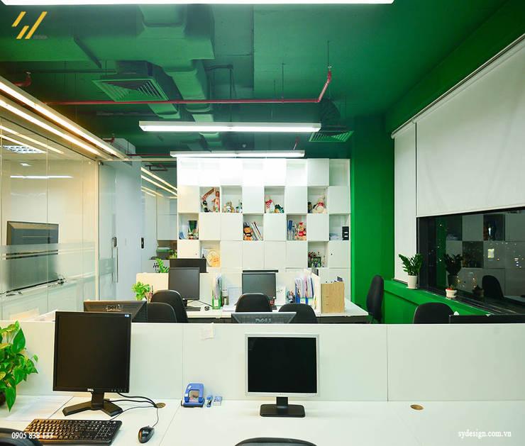 Công trình thiết kế nội thất trung tâm tiếng anh Language Link:  Phòng học/Văn phòng by SY DESIGN, Hiện đại