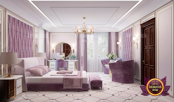 """The Perfect Color for a Lady's Bedroom: {:asian=>""""asian"""", :classic=>""""classic"""", :colonial=>""""colonial"""", :country=>""""country"""", :eclectic=>""""eclectic"""", :industrial=>""""industrial"""", :mediterranean=>""""mediterranean"""", :minimalist=>""""minimalist"""", :modern=>""""modern"""", :rustic=>""""rustic"""", :scandinavian=>""""scandinavian"""", :tropical=>""""tropical""""}  by Luxury Antonovich Design,"""