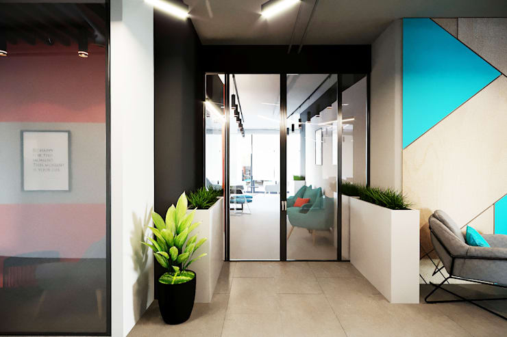 Commercial Spaces by Planka, Modern