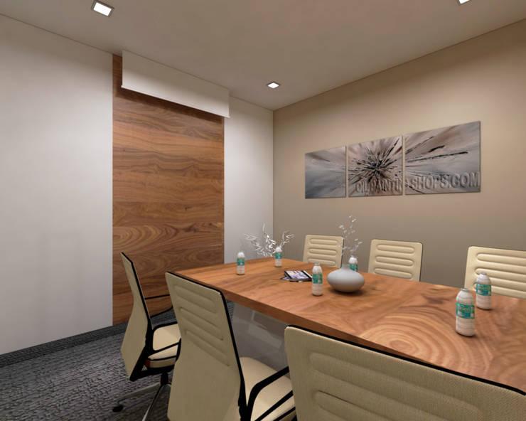Meeting Room Minimalist study/office by SPACE DESIGN STUDIOS Minimalist