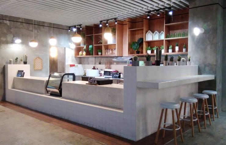 Mini Bar:industri  oleh parawarna, Industrial Kayu Lapis