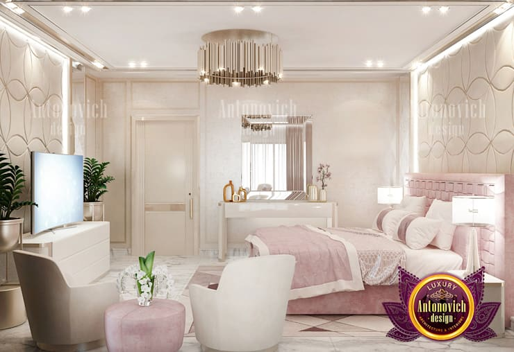 """Gorgeous Pink Bedroom Set: {:asian=>""""asian"""", :classic=>""""classic"""", :colonial=>""""colonial"""", :country=>""""country"""", :eclectic=>""""eclectic"""", :industrial=>""""industrial"""", :mediterranean=>""""mediterranean"""", :minimalist=>""""minimalist"""", :modern=>""""modern"""", :rustic=>""""rustic"""", :scandinavian=>""""scandinavian"""", :tropical=>""""tropical""""}  by Luxury Antonovich Design,"""