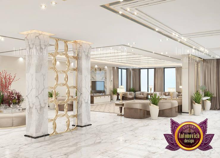 "Spacious Luxury Hall Interior Design: {:asian=>""asian"", :classic=>""classic"", :colonial=>""colonial"", :country=>""country"", :eclectic=>""eclectic"", :industrial=>""industrial"", :mediterranean=>""mediterranean"", :minimalist=>""minimalist"", :modern=>""modern"", :rustic=>""rustic"", :scandinavian=>""scandinavian"", :tropical=>""tropical""}  by Luxury Antonovich Design,"