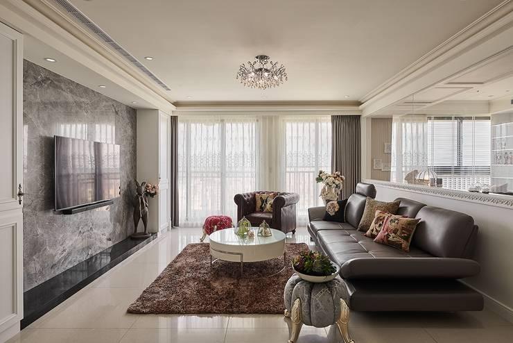 客廳:  客廳 by 趙玲室內設計, 古典風