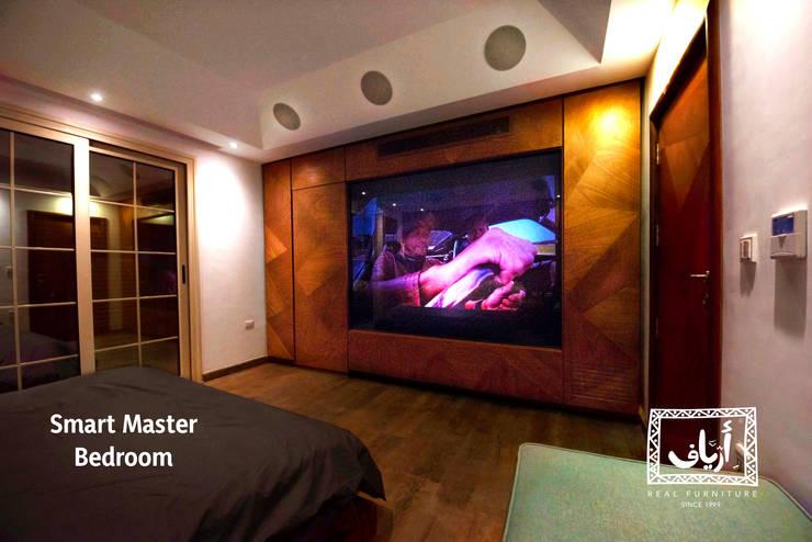 Villa In MiViDa:  غرفة نوم تنفيذ  Ariaf Authentic Design House, صناعي