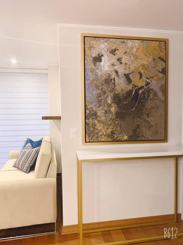Pintura abstracta moderna:  de estilo  por Shirley Palomino, Moderno