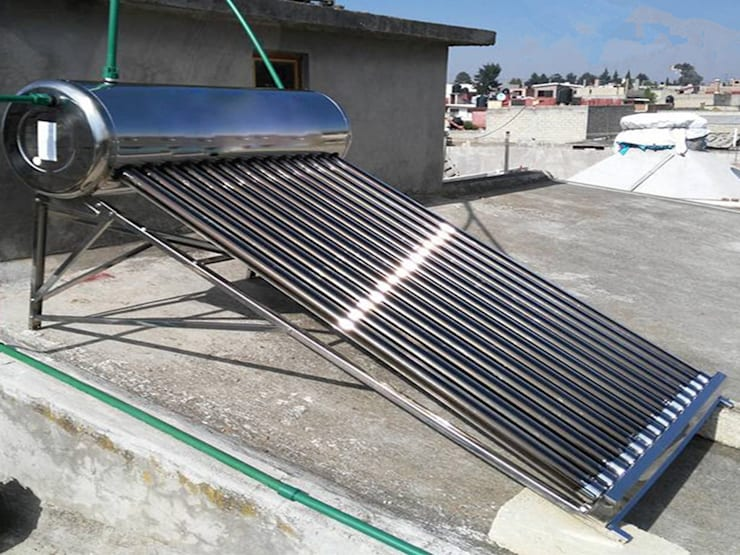 Solar Geyser Installation:  Flat roof by Plumber Nelspruit, Classic