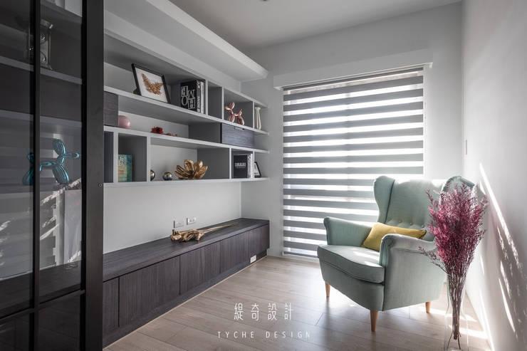Project | 晴。詩:  書房/辦公室 by 緹奇設計, 現代風 木頭 Wood effect