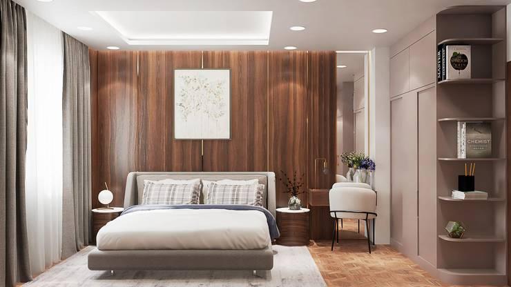 Thi công nội thất nhà phố Thăng Long Home: Châu Á  by Công ty TNHH kiến trúc xây dựng nội thất An Phú, Châu Á Gỗ thiết kế Transparent