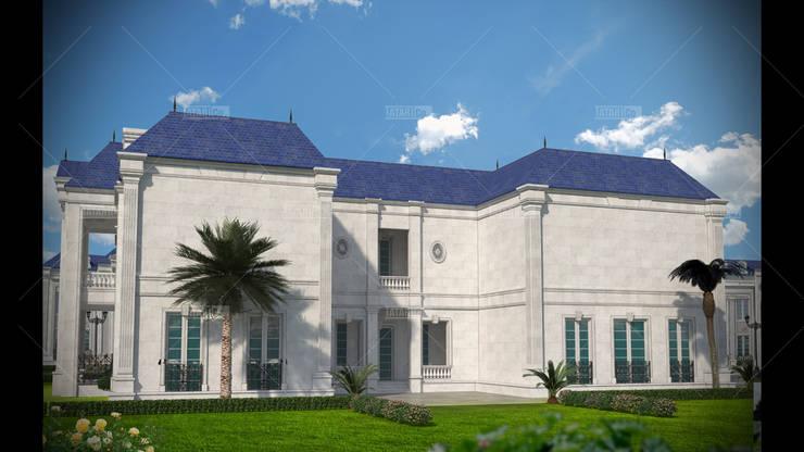 Casas de estilo clásico de tatari company Clásico Piedra