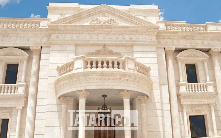 Klassische Häuser von tatari company Klassisch Stein