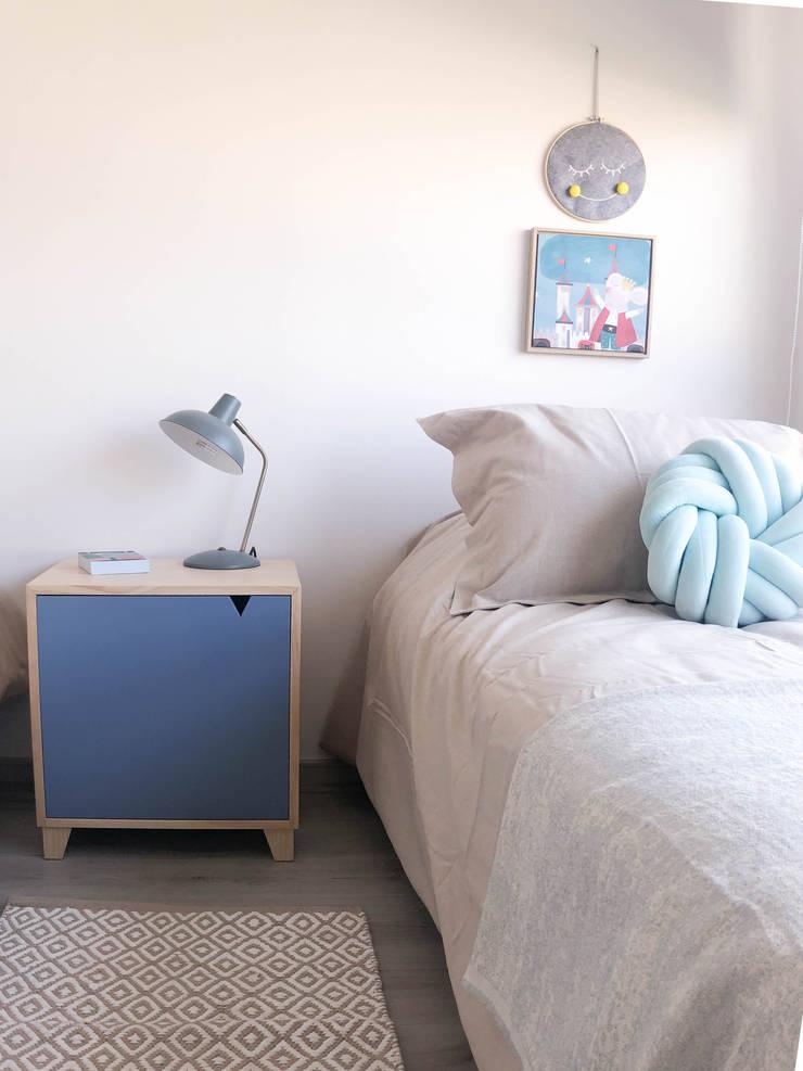 Dormitorio niños:  de estilo  por Moon Design, Moderno