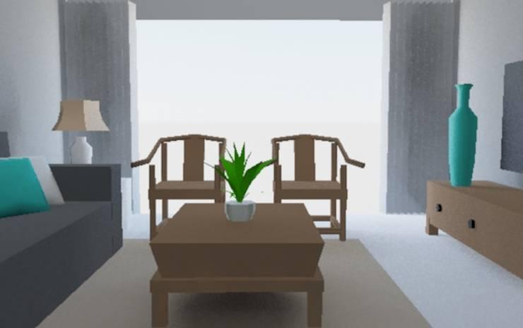 中國風:  商業空間 by 室 內 設 計, 現代風