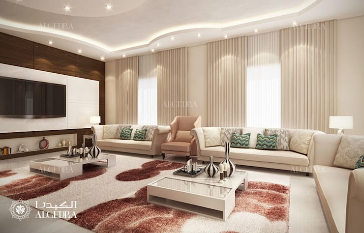 Majlis Interior Design by Algedra Interior Design
