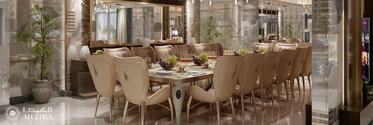 DINING ROOM INTERIOR DESIGN by Algedra Interior Design