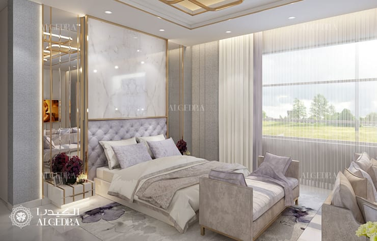 Master Bedroom Design by Algedra Interior Design
