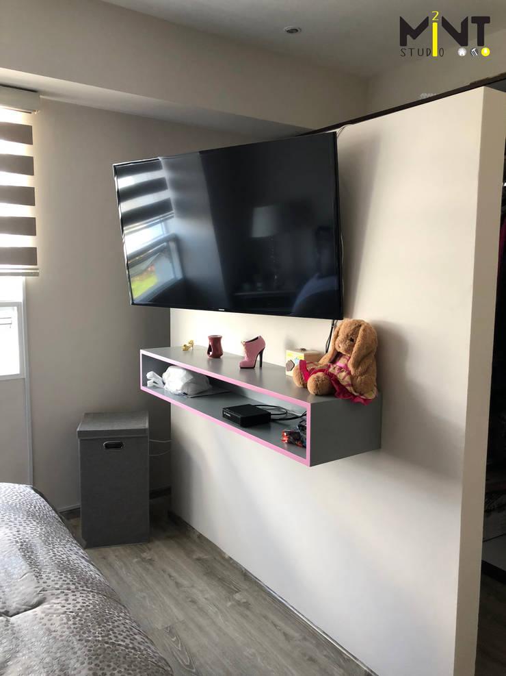 Small bedroom by 2 MINT STUDIO, Modern