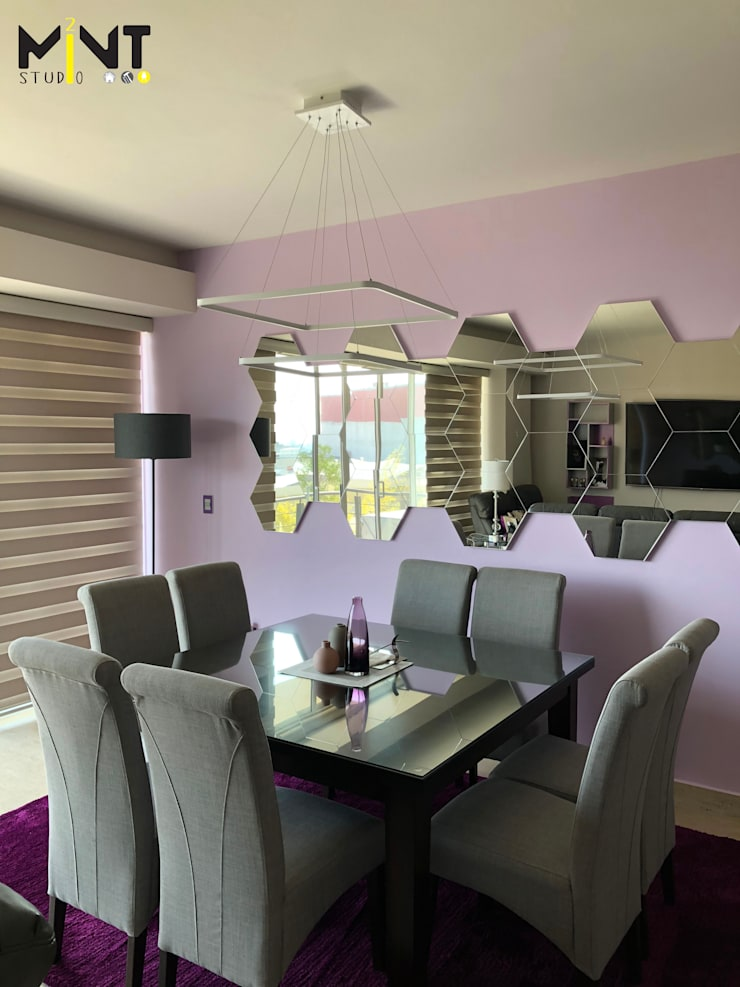 Dining room by 2 MINT STUDIO, Modern