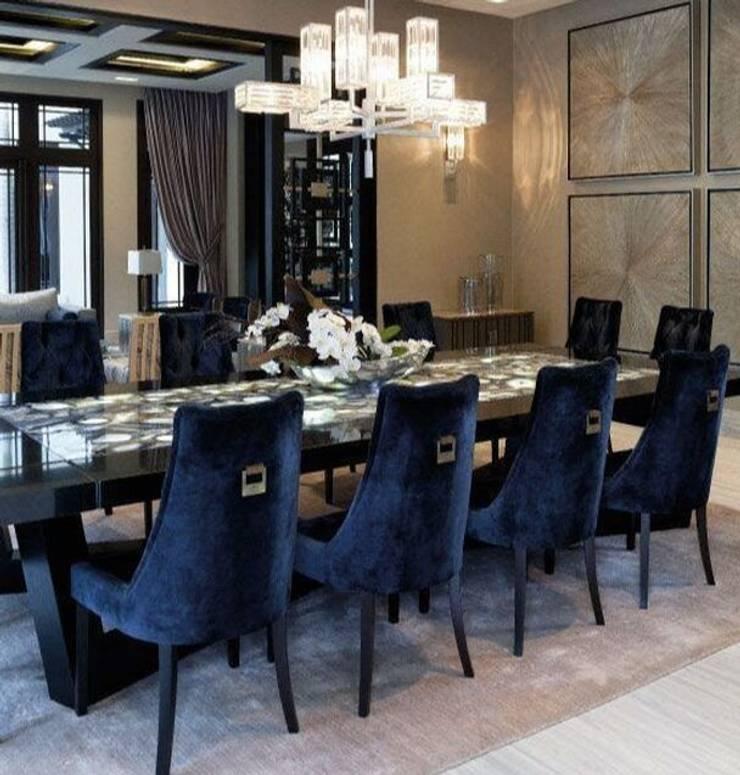 Zambezi estate house interior: modern  by Wentworth Construction, Modern Wood Wood effect