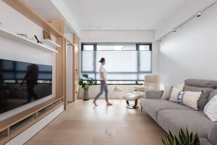 蘊韻:  客廳 by 禾光室內裝修設計 ─ Her Guang Design, 日式風、東方風