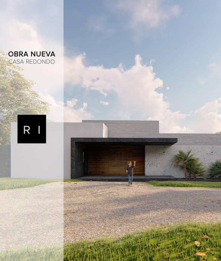 Casa Redondo, Chile: Casas de estilo  por Ri Arquitectos, Minimalista Concreto reforzado