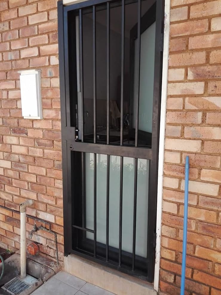 """AFTER CONVERTION - FITTED CLIENT'S OWN STEEL GATE: {:asian=>""""asian"""", :classic=>""""classic"""", :colonial=>""""colonial"""", :country=>""""country"""", :eclectic=>""""eclectic"""", :industrial=>""""industrial"""", :mediterranean=>""""mediterranean"""", :minimalist=>""""minimalist"""", :modern=>""""modern"""", :rustic=>""""rustic"""", :scandinavian=>""""scandinavian"""", :tropical=>""""tropical""""}  by ALUWOOD WINDOWS AND DOORS,"""