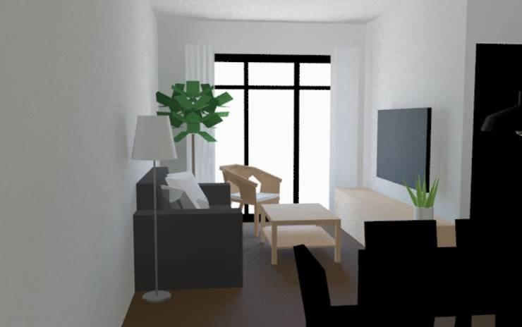 客廳:  客廳 by 室 內 設 計, 鄉村風