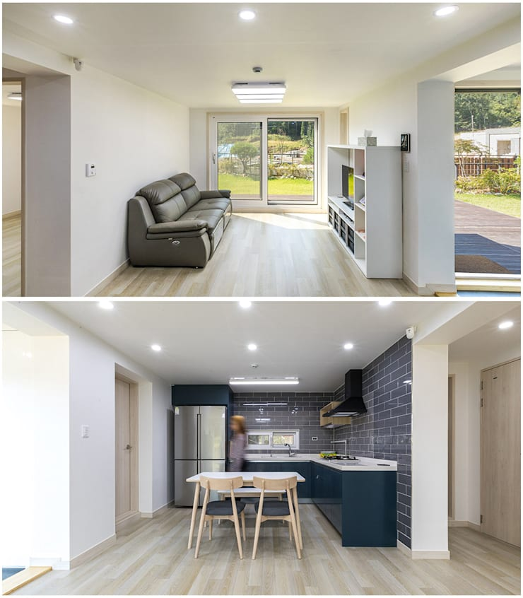 Interior :: 내부: 공간제작소(주)의  전원 주택,클래식