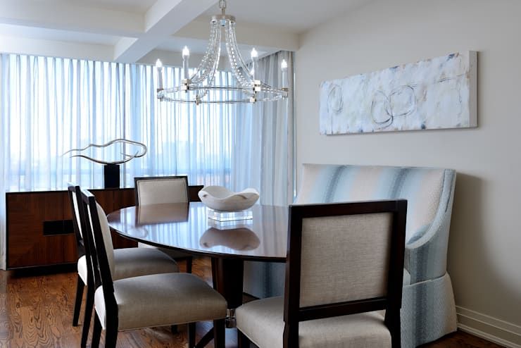 Dining room by Collage Designs, Modern