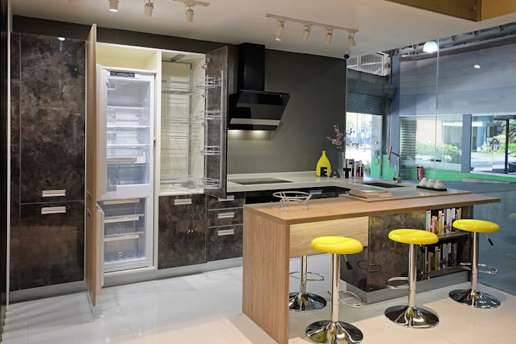 Industrial Inspired Kitchen: industrial  by Ideal Home, Industrial MDF