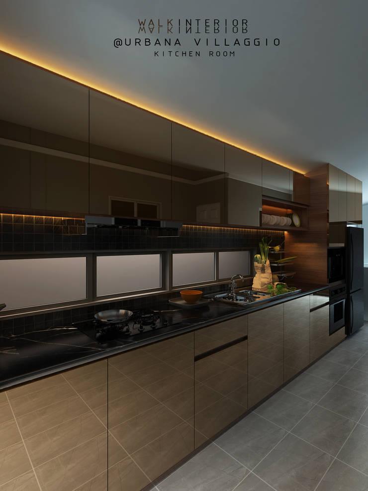 modern luxury:  บ้านเดี่ยว โดย walkinterior , โมเดิร์น กระจกและแก้ว