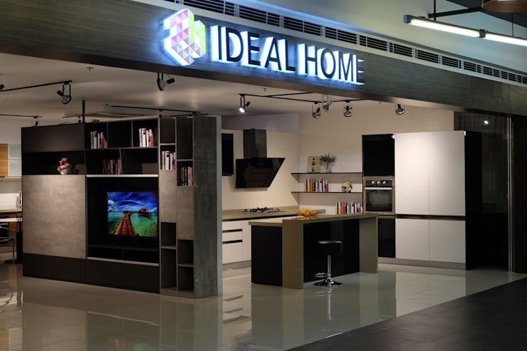 Ideal Home North Edsa Showroom Store Front:  Commercial Spaces by Ideal Home, Modern Wood Wood effect